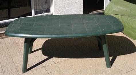 plastic patio table furniture backyard landscape design