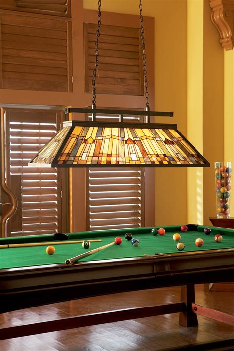 Pool Table Light by Quoizel Tfik348va Inglenook Traditional Kitchen