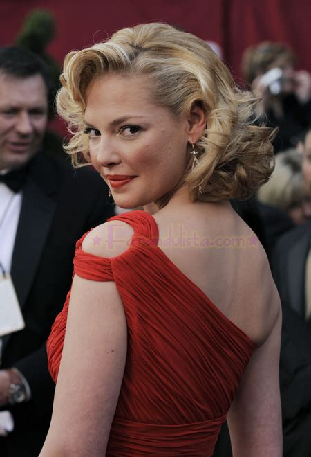 Katherine Heigl Looking Glam At The Academy Awards by Katherine Heigl En Los Oscar 2008 Farandulista