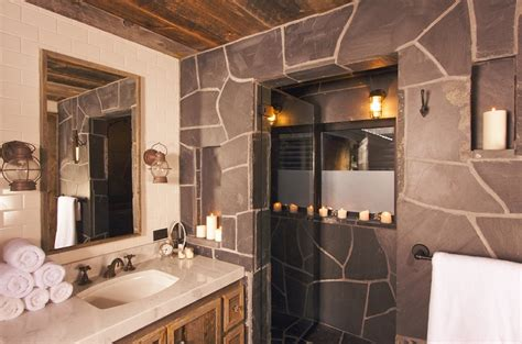 Rustic Bathroom Lighting Ideas 35 Stunning Rustic Modern Bathroom Ideas Godfather Style