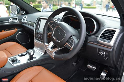 srt8 jeep launch srt grand interior launched in india indian