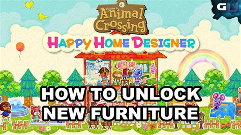 happy home designer furniture guide animal crossing happy home designer how to unlock new