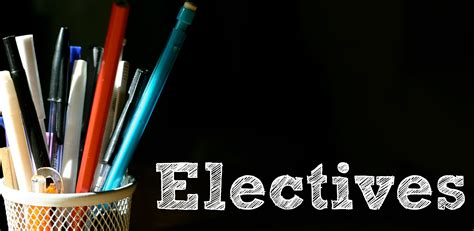 7 Electives To Take In College by High School Electives High School Homeschool
