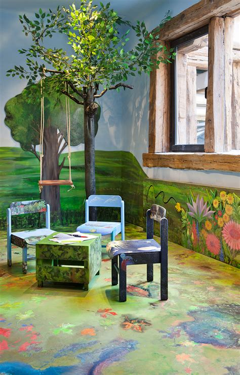 bosque encantado como habitacion infantil vivir hogar