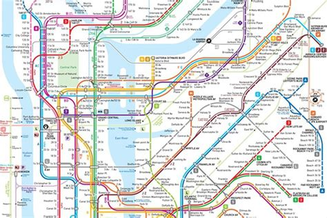 map of subway nyc this new nyc subway map may be the clearest one yet