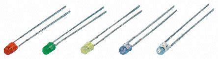 led green resistor proto pic green diffused led w resistor l934gd 12v 5 pack 228 5540 proto pic