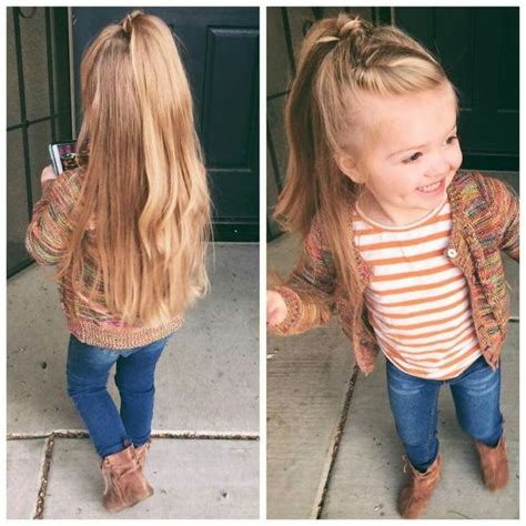 toddler girl haircuts half up half down hair little girl hairstyles toddler