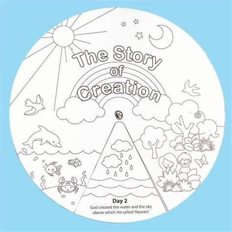 template creation creation story wheels sunday scool wheels