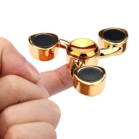 Premium Class Fidget Spinner Metal Shield Titanium Aloy Robotic Kurn store for gex metal tri spinner gx041 free delivery