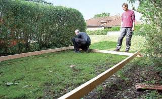 terrasse bauen unterbau holzterrasse bauen holzterrasse selbst de