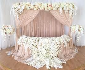sweetheart table decor 15 best ideas about sweetheart table decor on