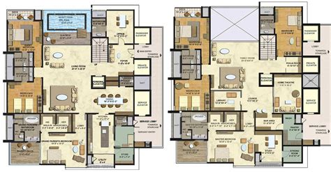villa floor plans india 4bhk villa for sale in kphb hyderabad at lodha bellezza