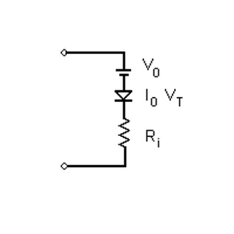 diode equivalent httprover s 2nd equivalent circuit for an led