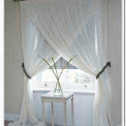 different way to hang curtains creative ways to hang curtains curtain curtain image