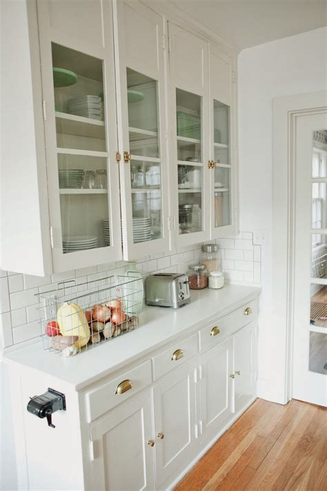upper kitchen cabinets with glass doors original 1920s built ins want to recreate these with ikea