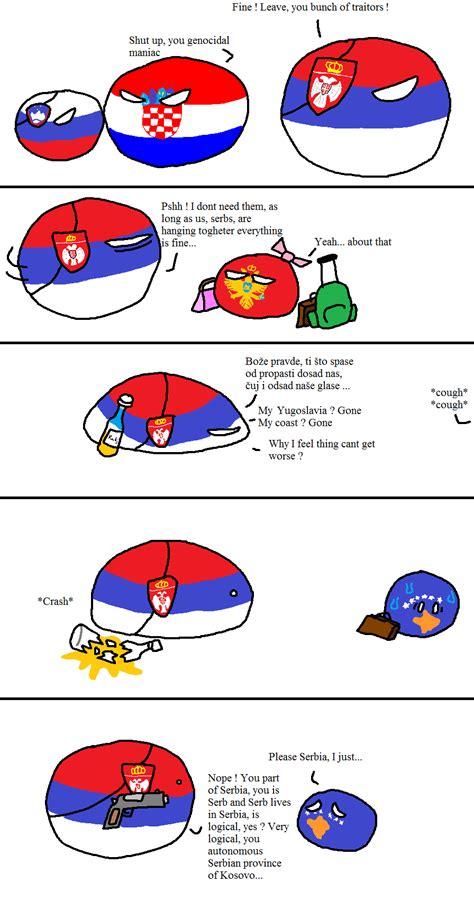 Countryball Meme - serbia and friends polandball s countryballs
