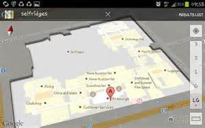O2 London Floor Plan google and bing allow you to navigate within shopping