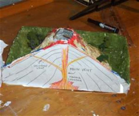 How To Make A Volcano Out Of Paper Mache - how to make a volcano page 2
