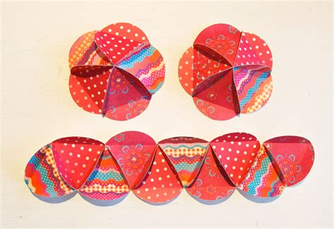 How To Make Paper Balls - diy paper balls 171 bypetra