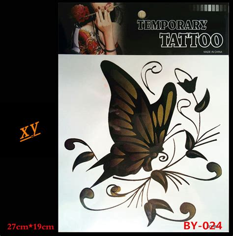 flash tattoos aliexpress popular butterfly tattoos black buy cheap butterfly