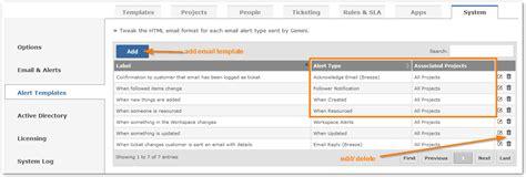 Alert Templates Gemini Documentation It Alert Email Template