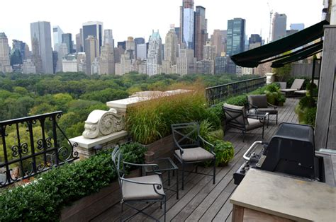 central park west traditional balcony new york by jeffrey erb landscape design