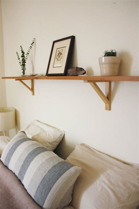 best 25 shelf above bed ideas on