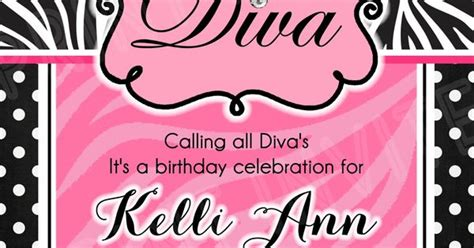 diva invitation template 15 00 www facebook com