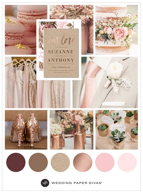april wedding colors 2017 50 best of wedding color combination ideas 2017 16