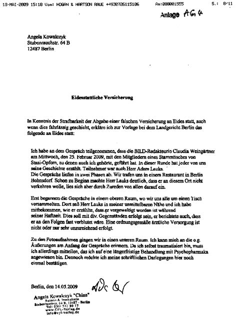 Brief Schreiben Muster Versicherung Ra Im Jura Adamlauks Seite 2