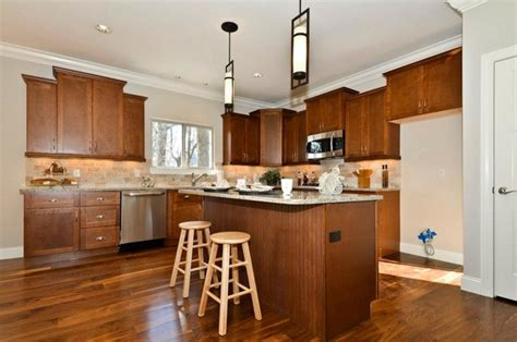 Walnut Shaker Kitchen Cabinets shaker walnut cabinets contemporary kitchen other