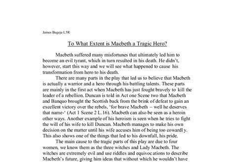 macbeth essay macbeth tyrant or tragic hero gcse