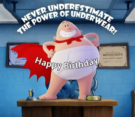 More Com Sweepstakes - free captain underpants birthday greeting cards