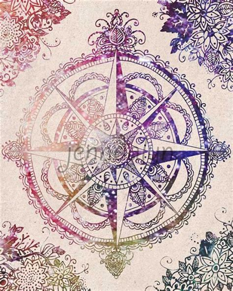 compass tattoo prints compass rose drawing tumblr