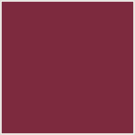port color 7d2a3f hex color rgb 125 42 63 port