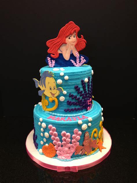 little mermaid birthday cake brenham olde towne bakery