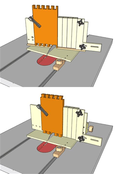 table saw dovetail jig specifications