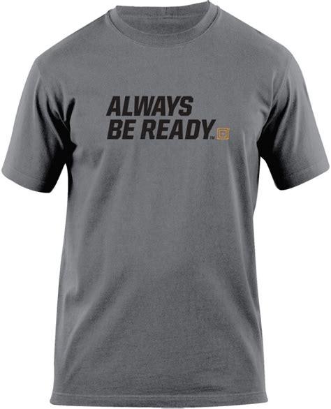 t shirt 5 11 5 11 tactical always be ready graphic t shirt 41006az