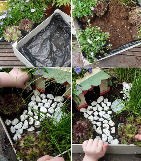 Fabriquer Un Jardin Zen by Modele Pour Fabriquer Un Mini Jardin Enfant Pour Les
