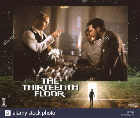 Thirteenth Floor by The Thirteenth Floor Aka 13th Floor Us Poster From