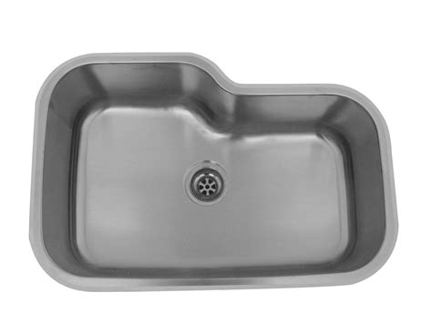 single bowl kitchen sinks online single bowl stainless steel as125 31 quot x 20 quot x 10 quot 18g single bowl undermount deluxe