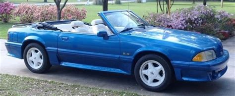 Port Saint Lucie Used Cars 1989 Ford Mustang Gt Convertible 5 0 Fox Body Foxbody