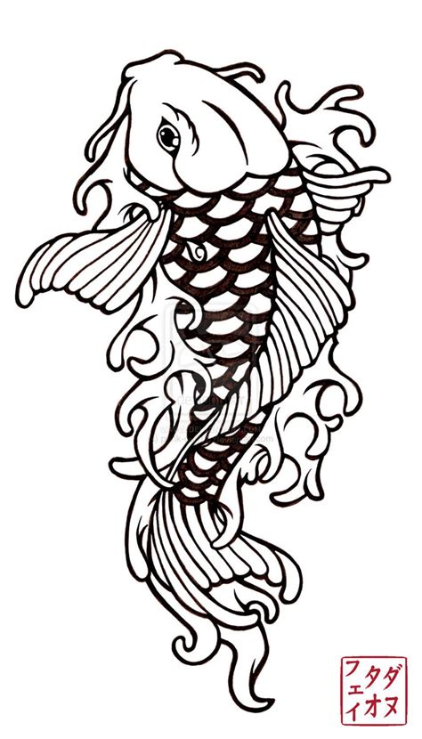 simple koi fish tattoo designs japanese tattoos fish koi design