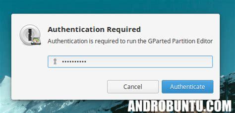 cara format flash disk linux cara format flashdisk menggunakan gparted androbuntu