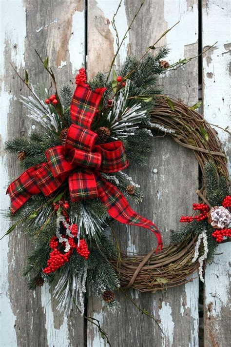 grapevine wreath holidays christmas pinterest