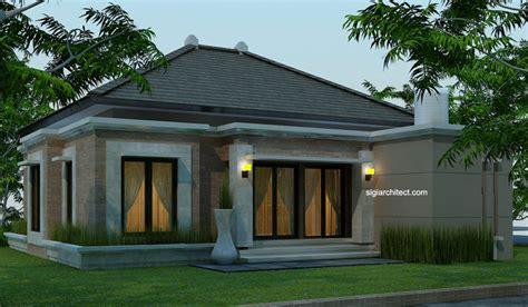 Rumah Pedesaan Sederhana Skala 64 desain rumah bali modern model rumah 4 tak