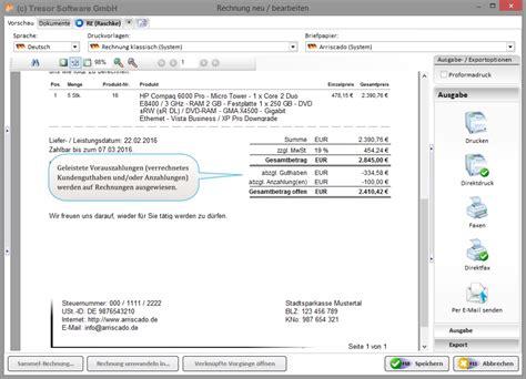 Freiberufler Rechnung Rechnungsnummer Einfache Rechnungsverwaltung Software F 252 R Selbstst 228 Ndige Kmu Existenzgr 252 Nder