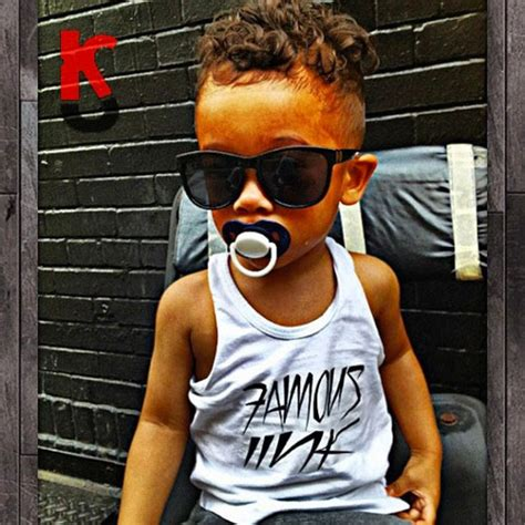little mixed toddler boys kids with swag on tumblr
