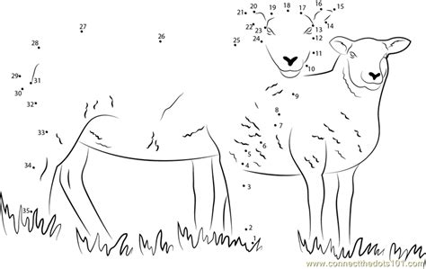 printable dot to dot sheep connect the dots sheep cumbria animals gt sheep dot to