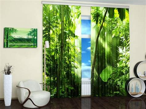 nature themed shower curtains 15 window curtains with colorful art prints of beautiful